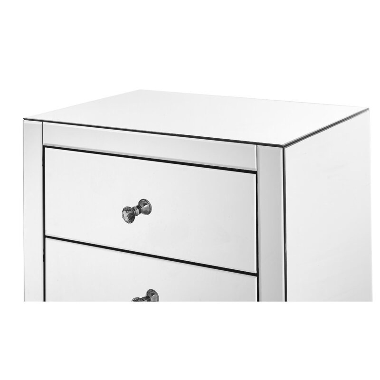 Clear Mirror 5 Drawer Lingerie Chest - image-5