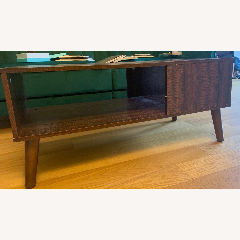 Walnut Coffee Table - image-4