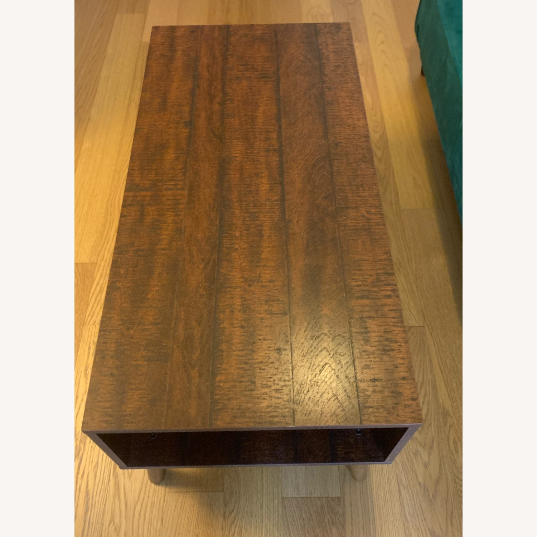 Walnut Coffee Table - image-1