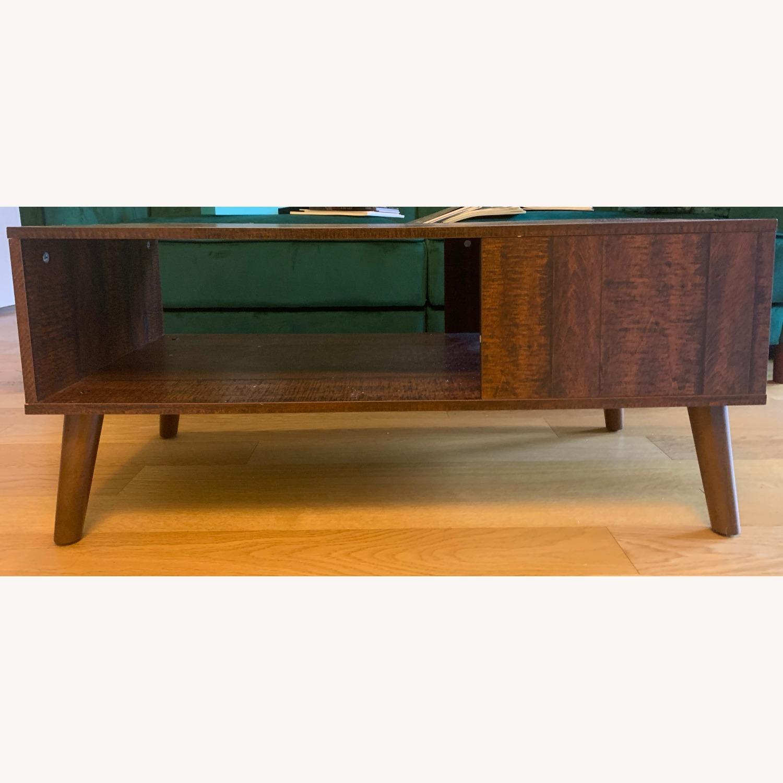 Walnut Coffee Table - image-2