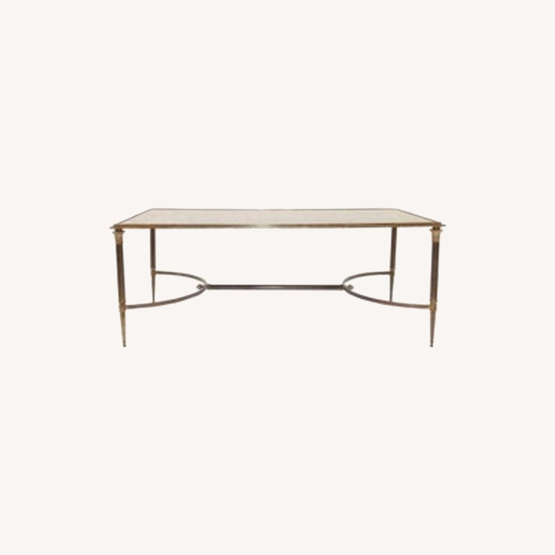 Maison Jansen Style Bronze Cocktail Table - image-0