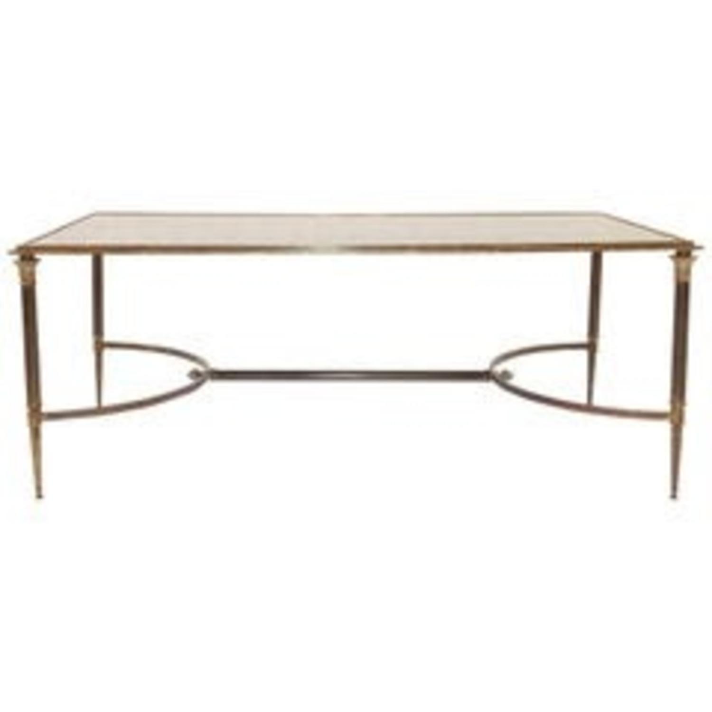 Maison Jansen Style Bronze Cocktail Table - image-1