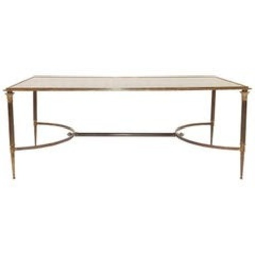 Used Maison Jansen Style Bronze Cocktail Table for sale on AptDeco