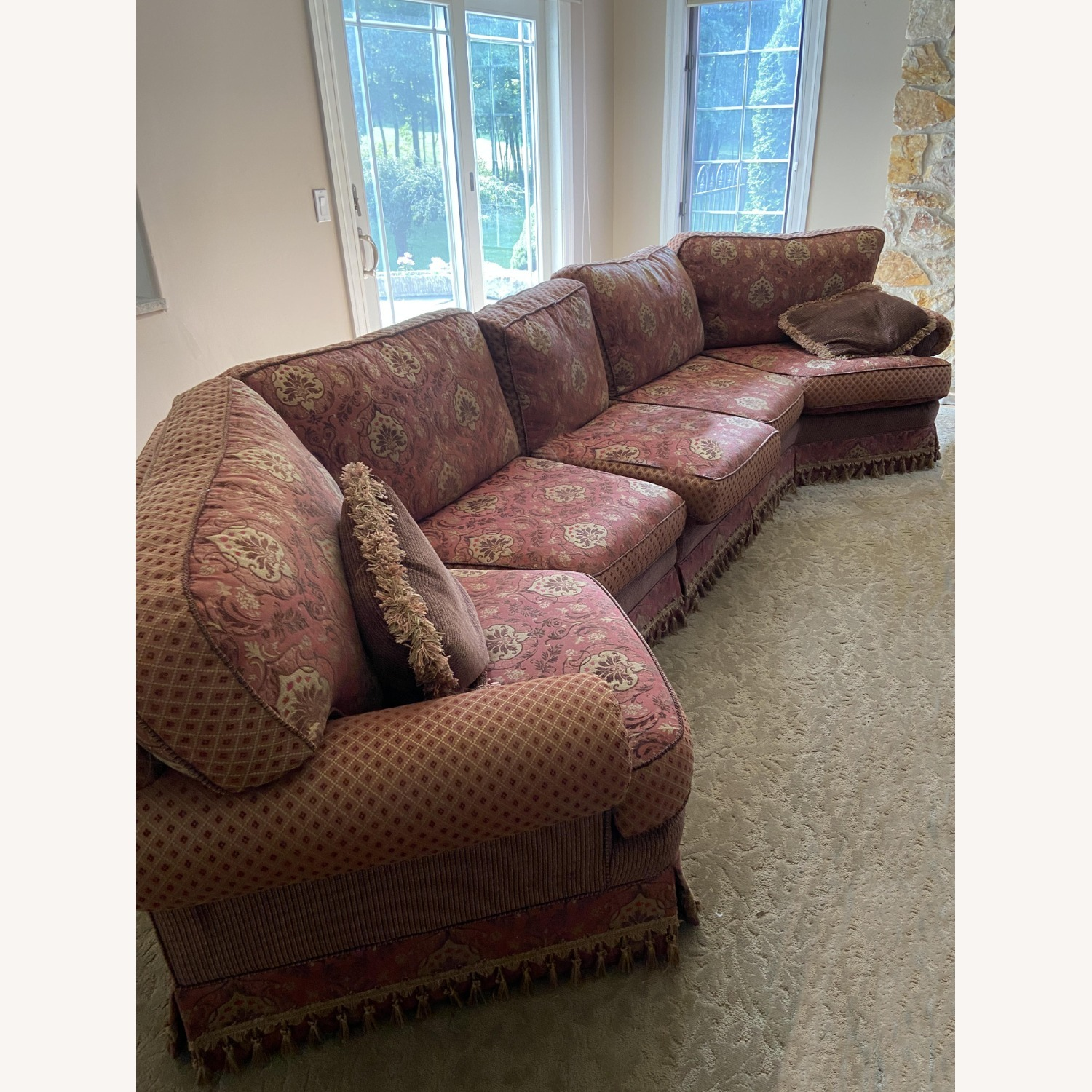 Sherrill Furniture 3 Piece Couch - image-1