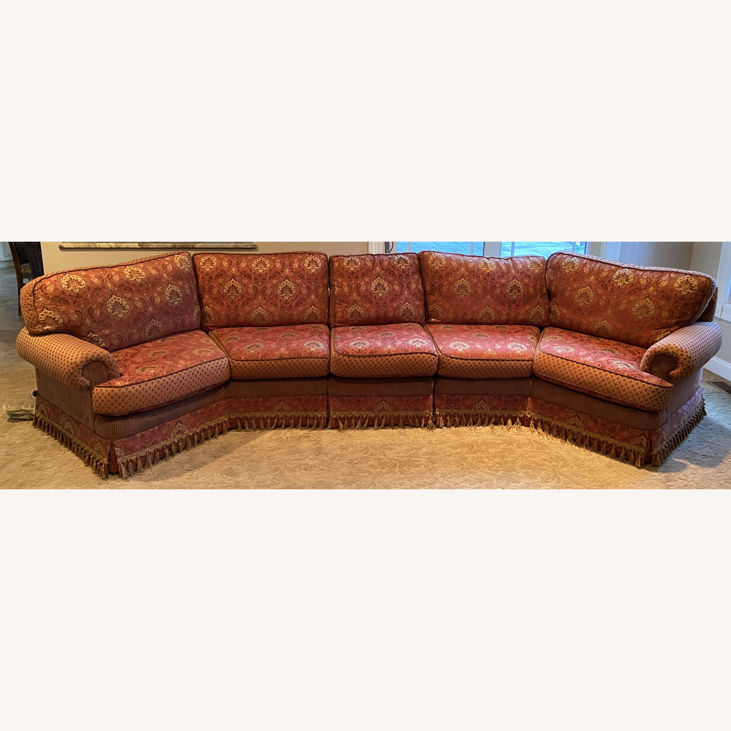 Sherrill Furniture 3 Piece Couch - image-0