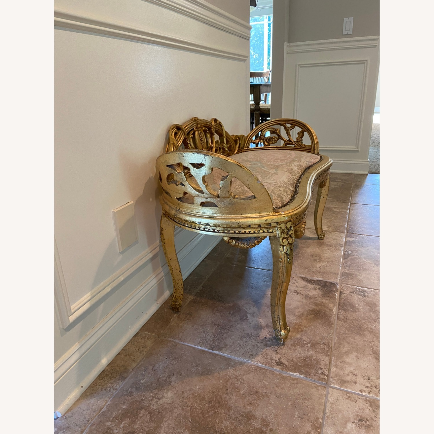 Antique Louis XV French Settee - image-3