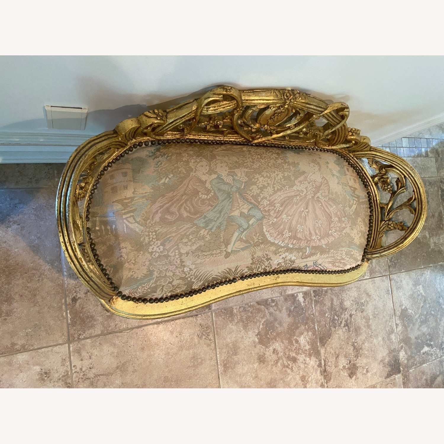 Antique Louis XV French Settee - image-2