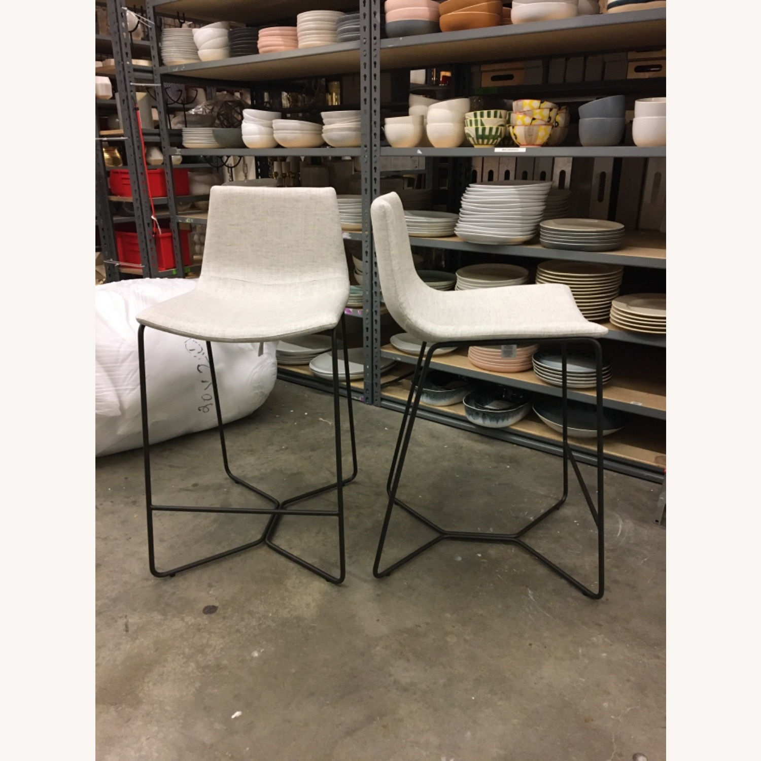 West Elm Slope Counter Stools - image-1