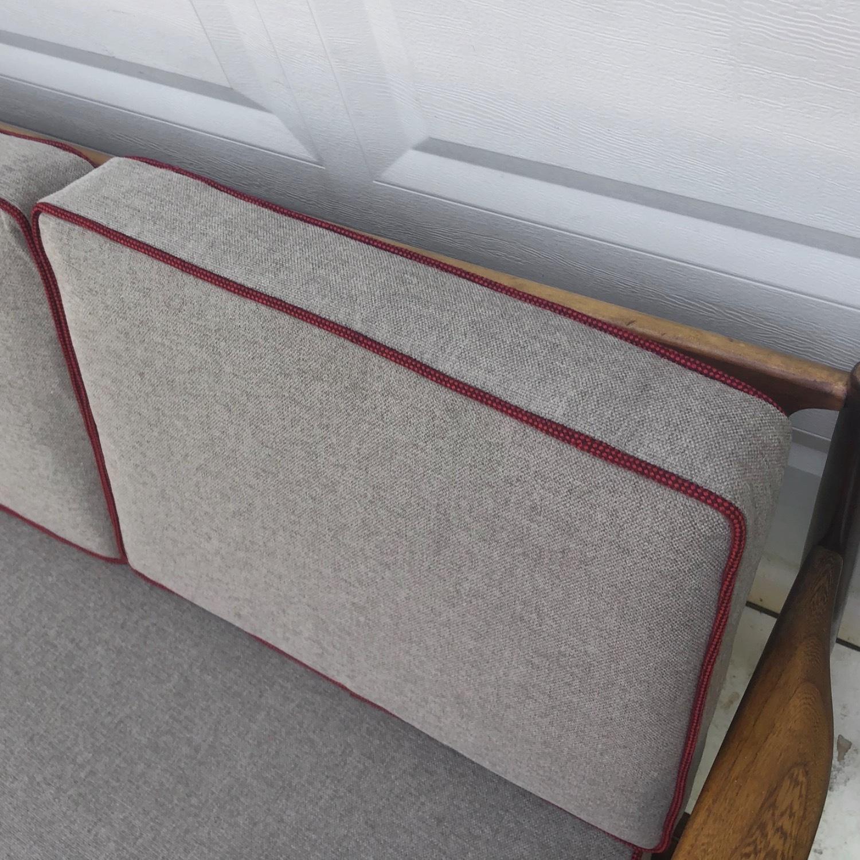 Mid-Century Modern Two Piece Sofa or Corner Sofa - image-11