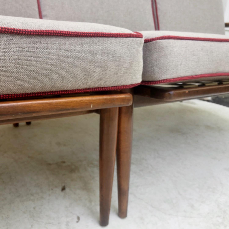 Mid-Century Modern Two Piece Sofa or Corner Sofa - image-10