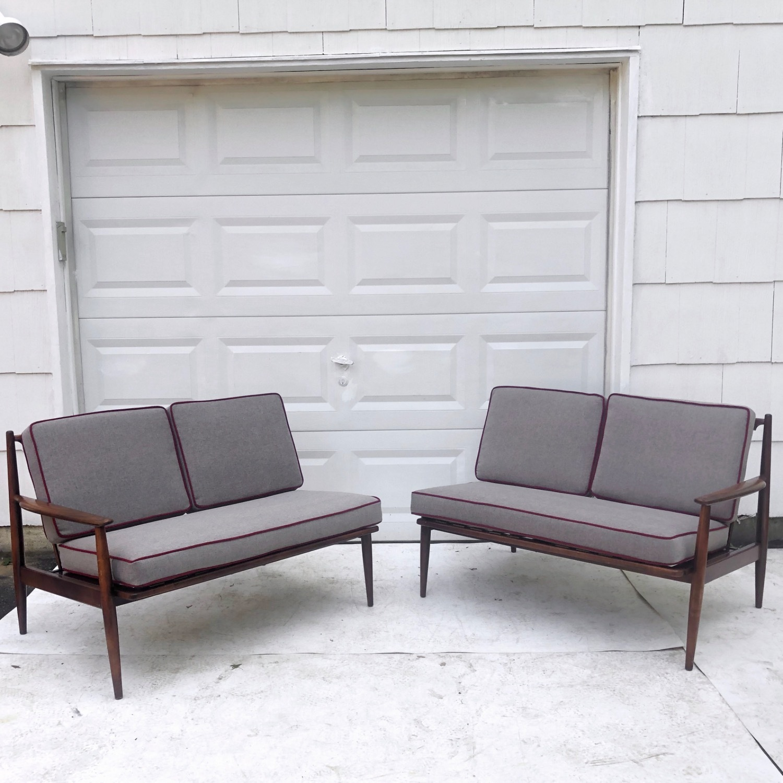 Mid-Century Modern Two Piece Sofa or Corner Sofa - image-3