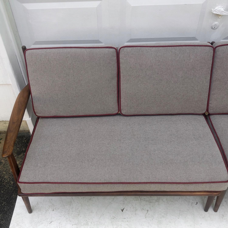 Mid-Century Modern Two Piece Sofa or Corner Sofa - image-7
