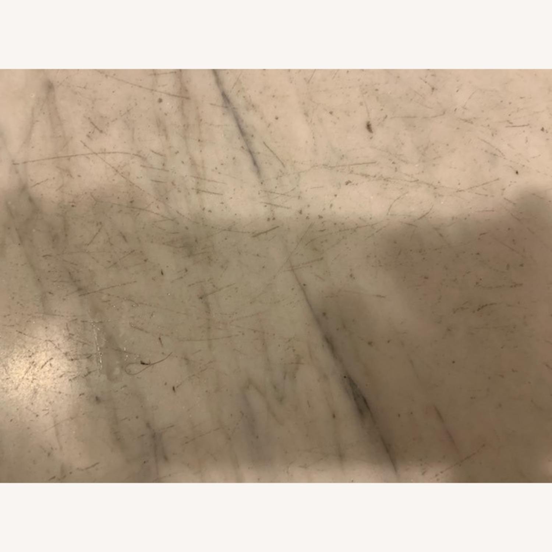 Marble Top Walnut Victorian Vanity - image-4