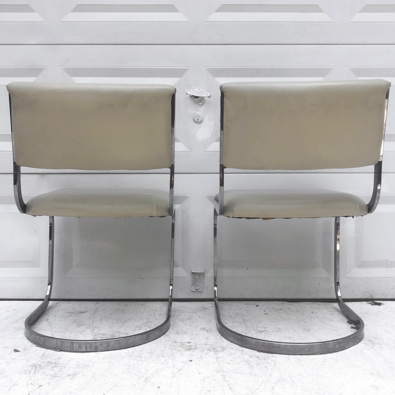 Vintage Modern Dining Chairs Set of 8 - image-5