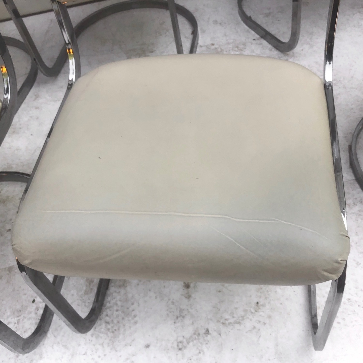 Vintage Modern Dining Chairs Set of 8 - image-7