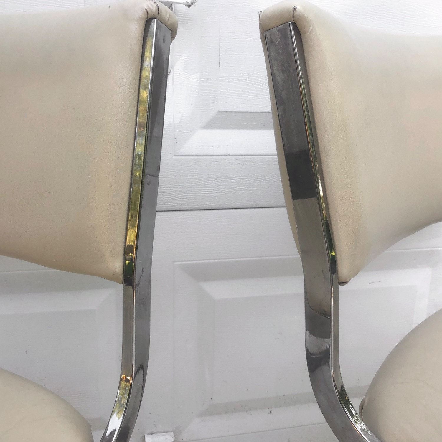 Vintage Modern Dining Chairs Set of 8 - image-10