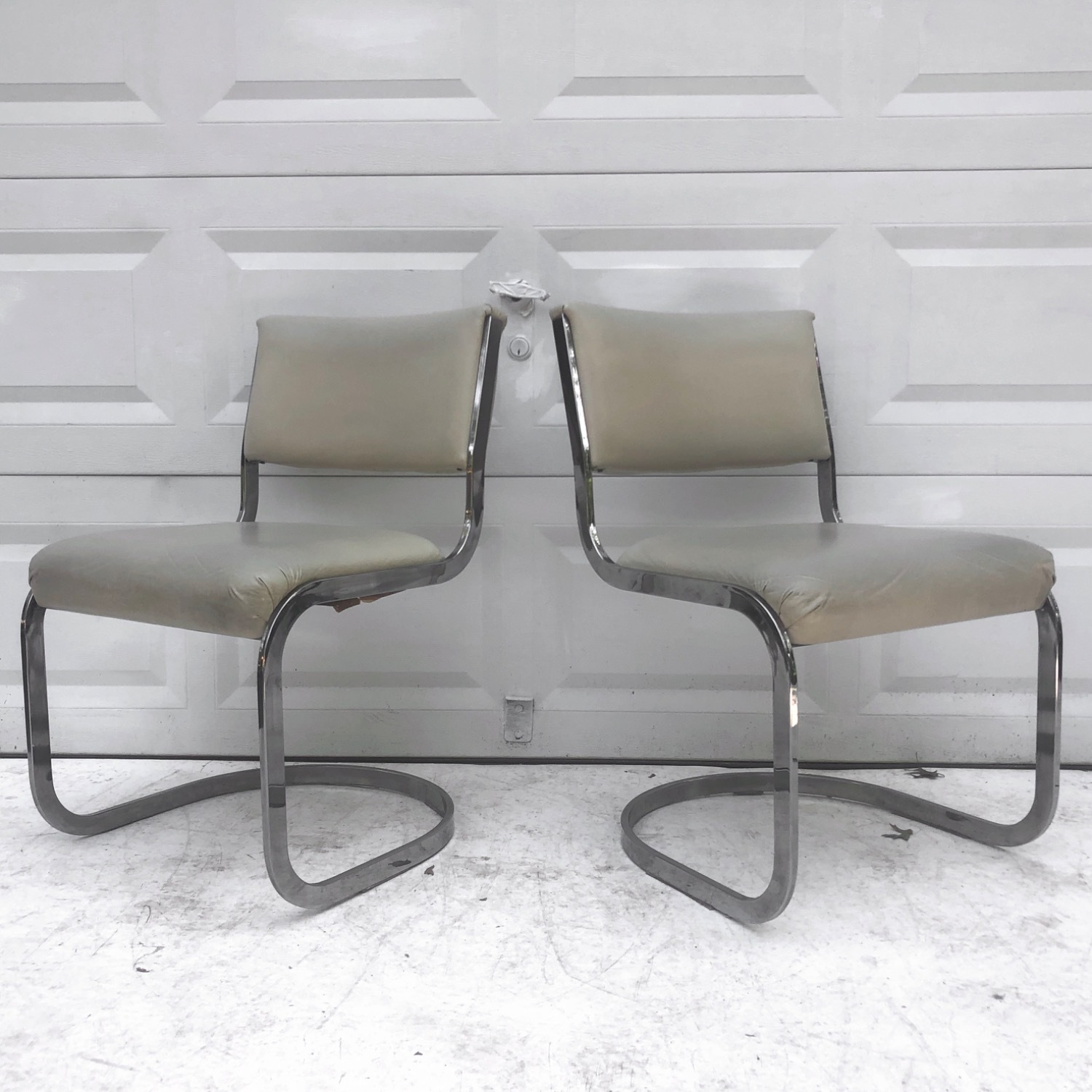 Vintage Modern Dining Chairs Set of 8 - image-3