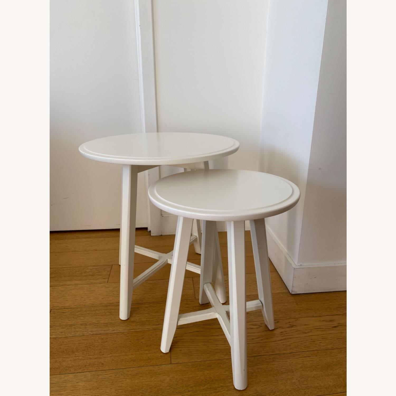 IKEA Kragsta White Coffee Tables - image-1