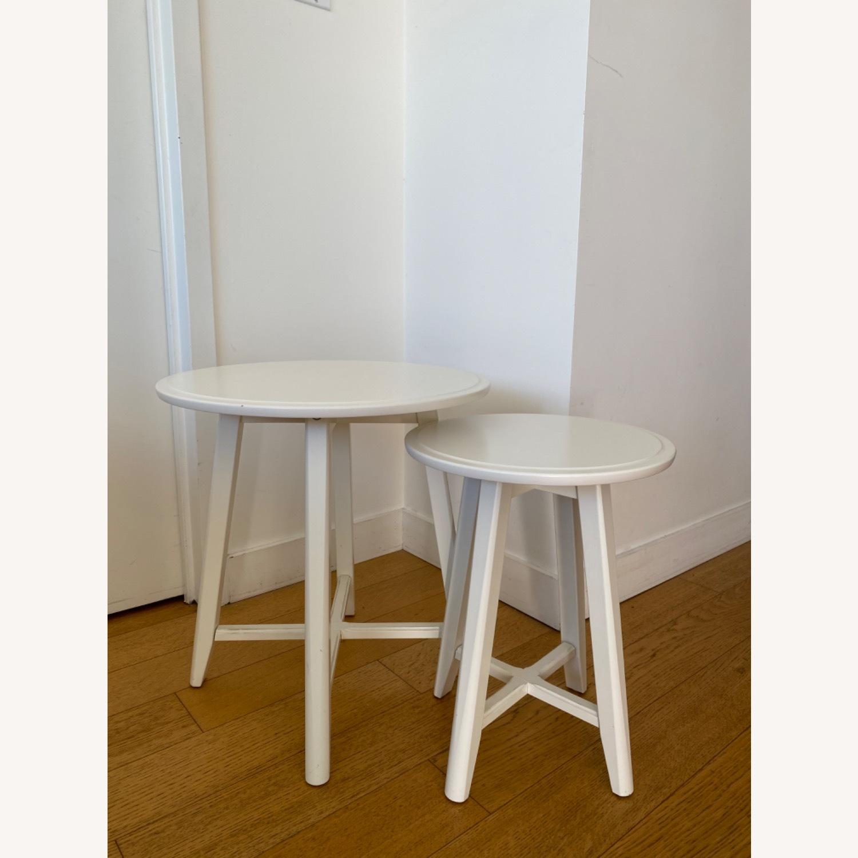 IKEA Kragsta White Coffee Tables - image-2