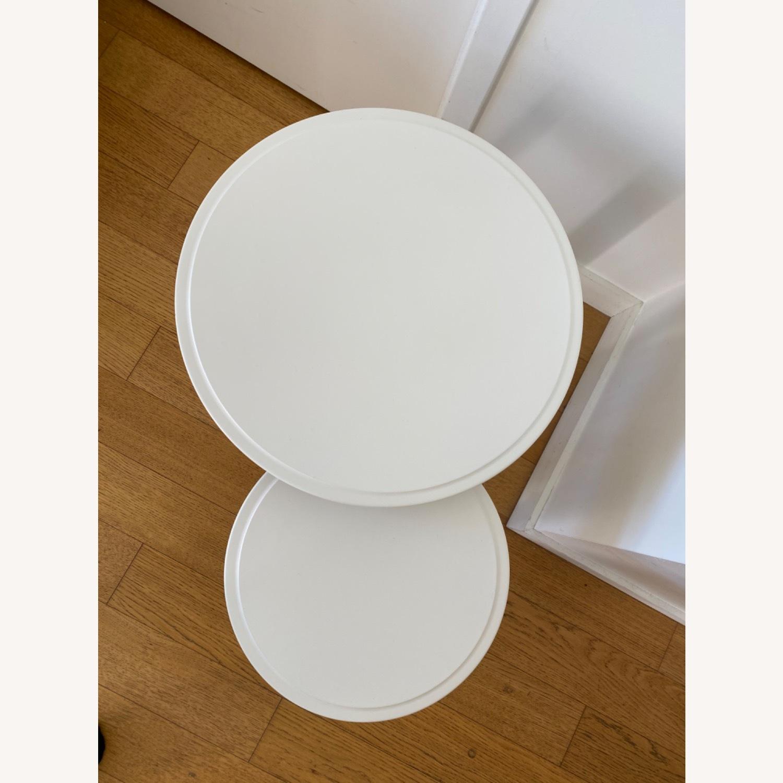 IKEA Kragsta White Coffee Tables - image-4