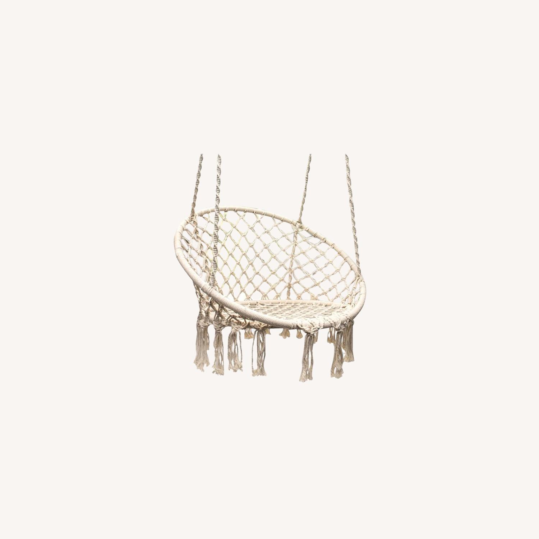 Macrame Hanging Chair - image-0