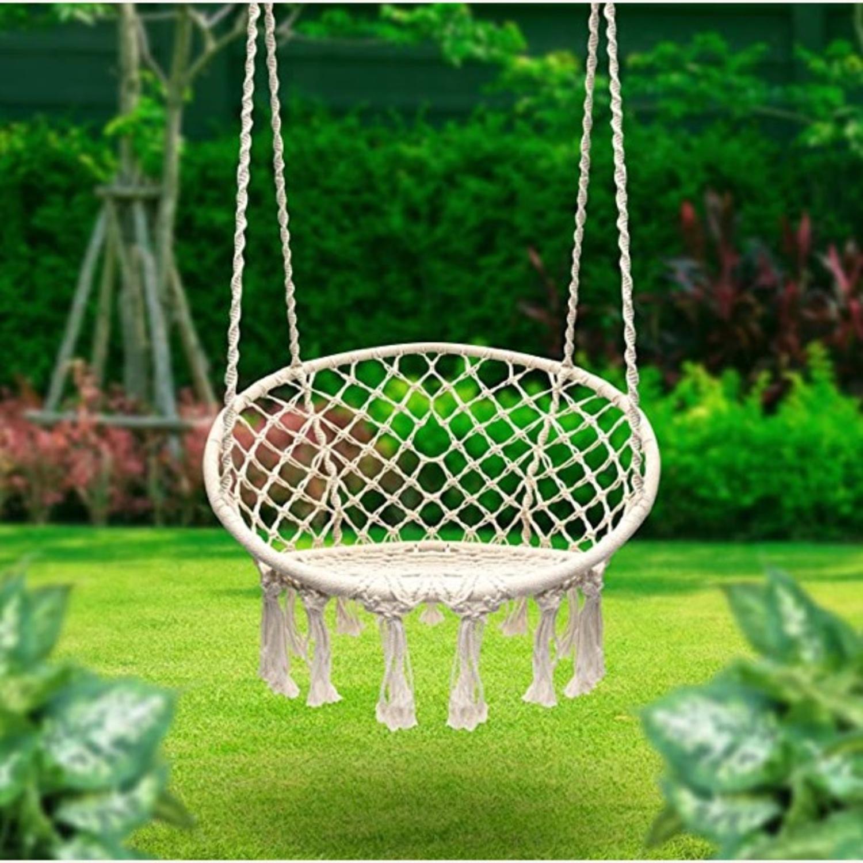 Macrame Hanging Chair - image-3