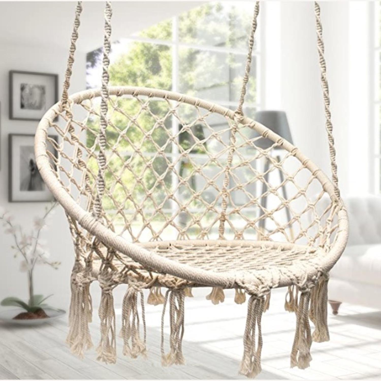 Macrame Hanging Chair - image-1