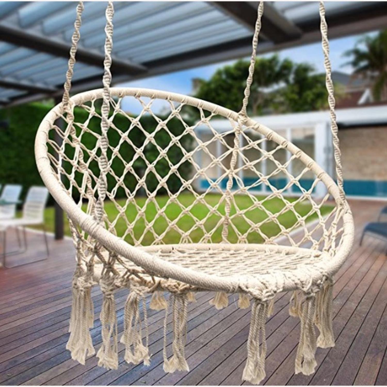 Macrame Hanging Chair - image-2
