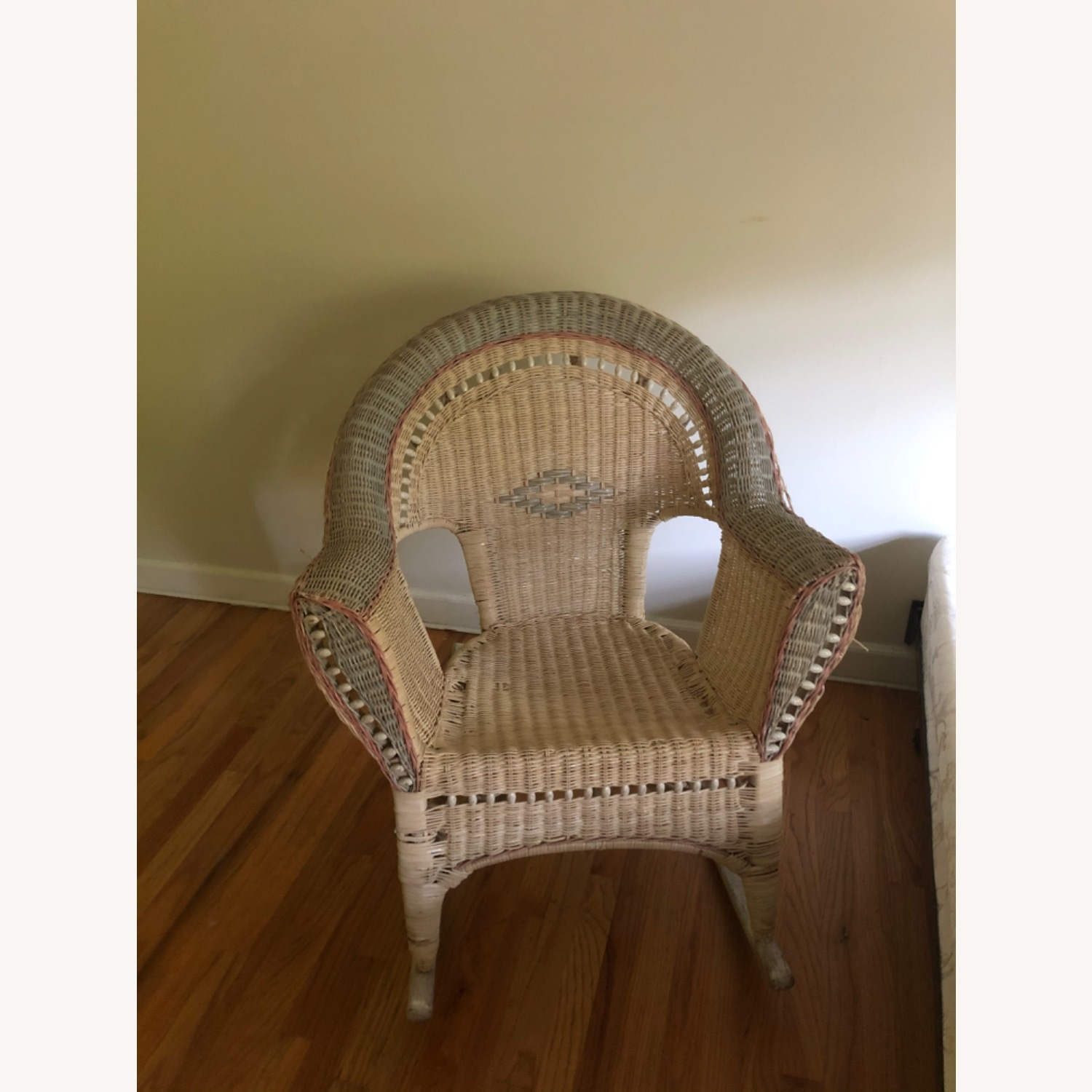 Wicker Ricking Chair - image-2