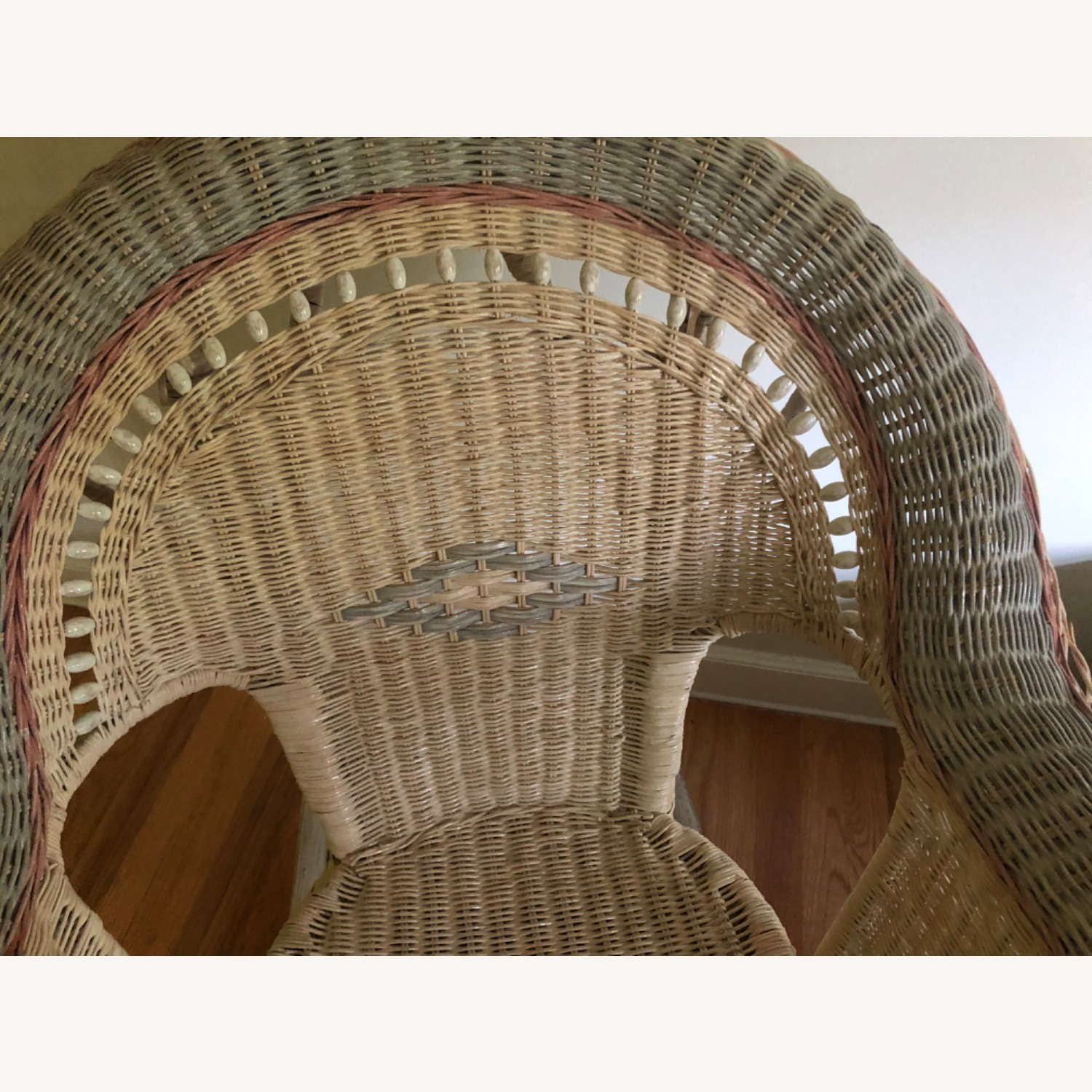 Wicker Ricking Chair - image-3