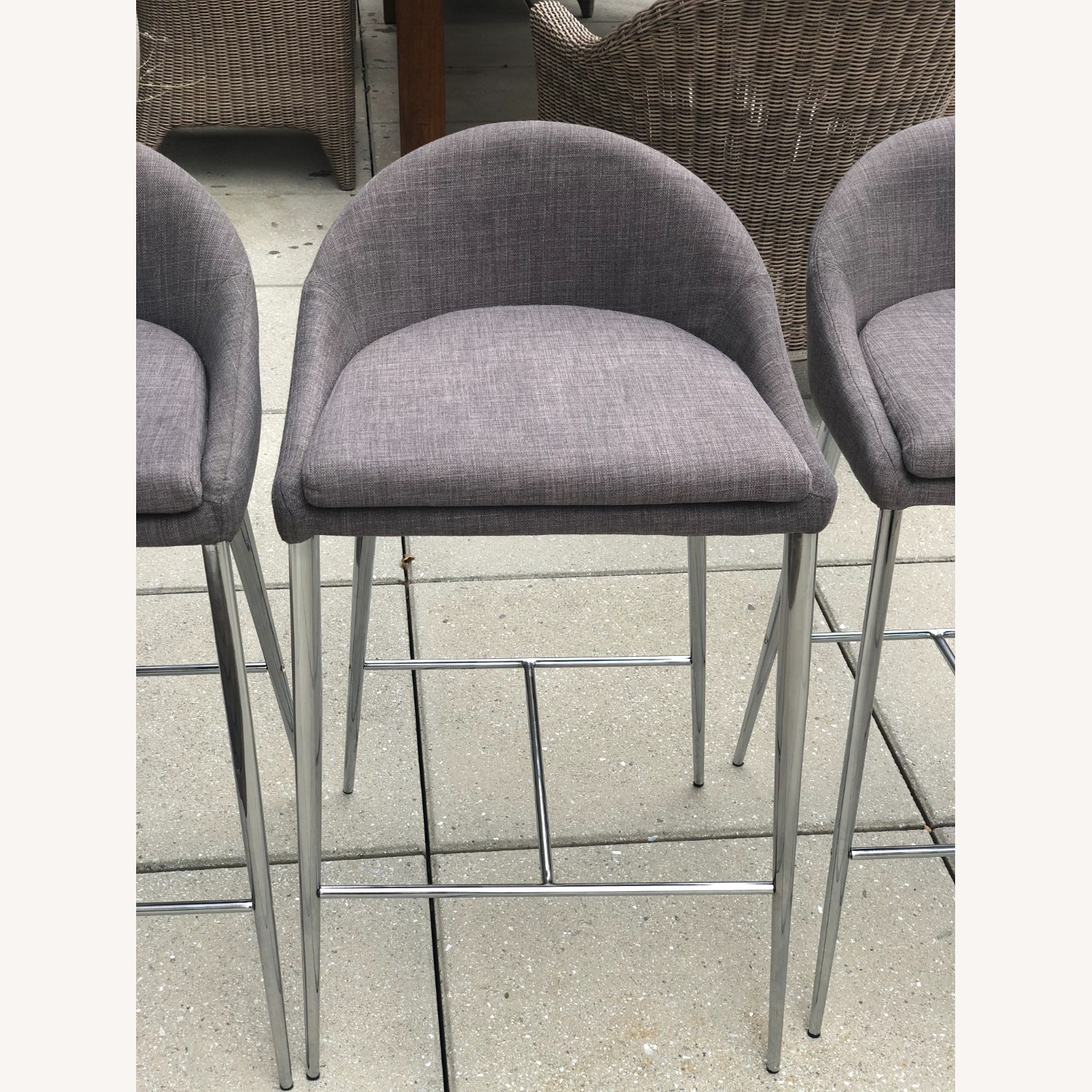 Set of Four Brielle-C Counter Stools - image-7