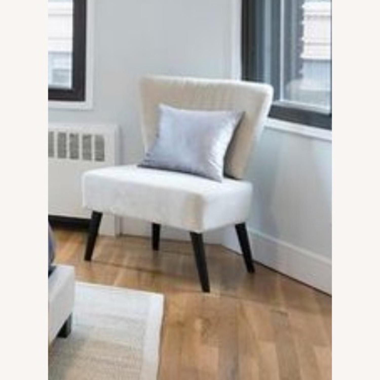 Wayfair Biege Slipper Chair - image-2