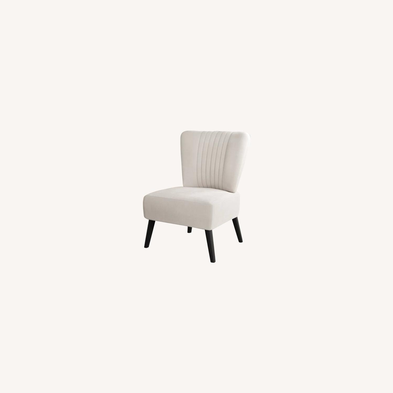 Wayfair Biege Slipper Chair - image-0