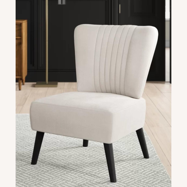 Wayfair Biege Slipper Chair - image-1