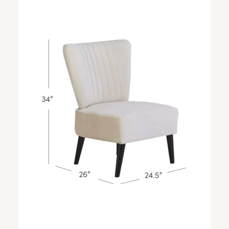 Wayfair Biege Slipper Chair - image-4