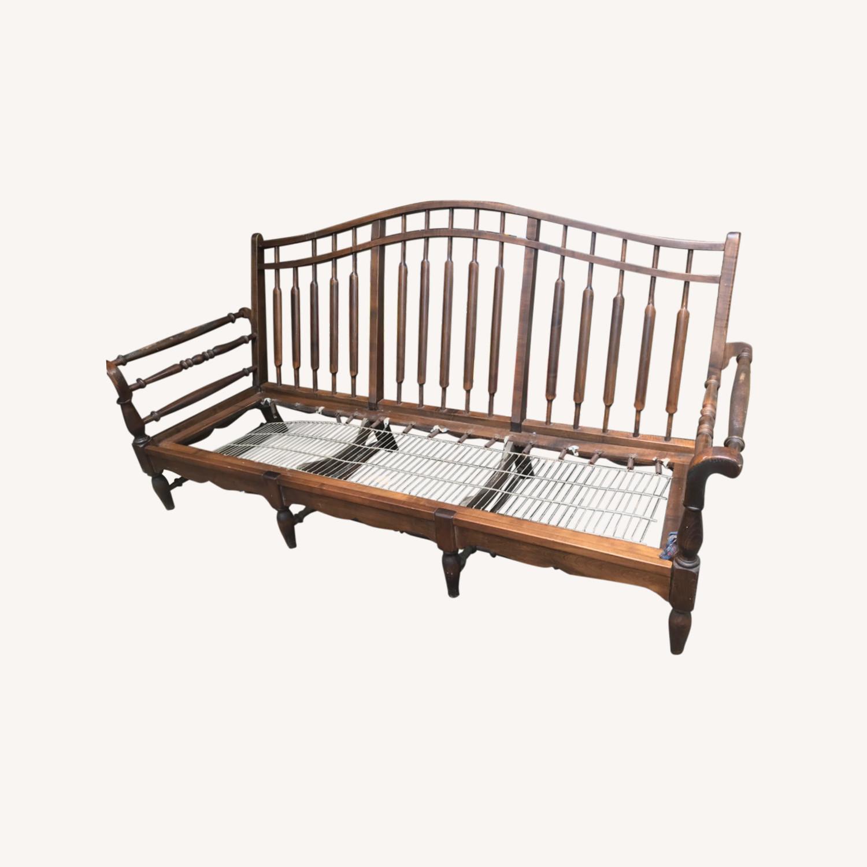 Unique Wooden Couch - image-0