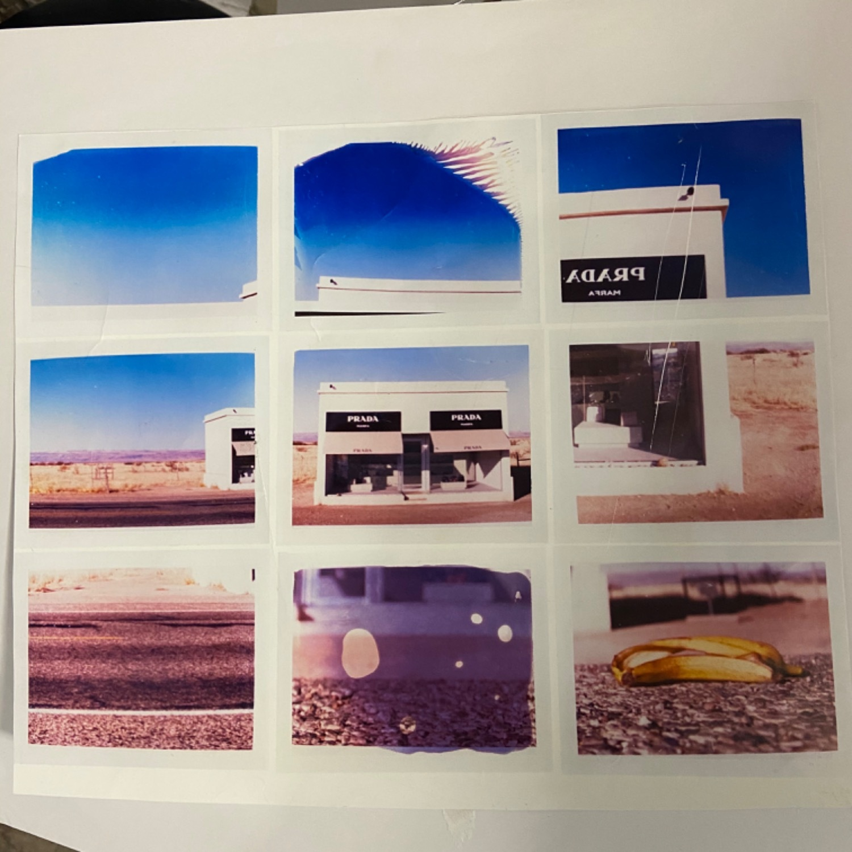 Gray Malin Prada Marfa Nine Polaroids - image-2