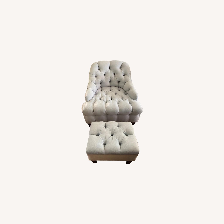 Lounge Chair and Ottoman - image-0