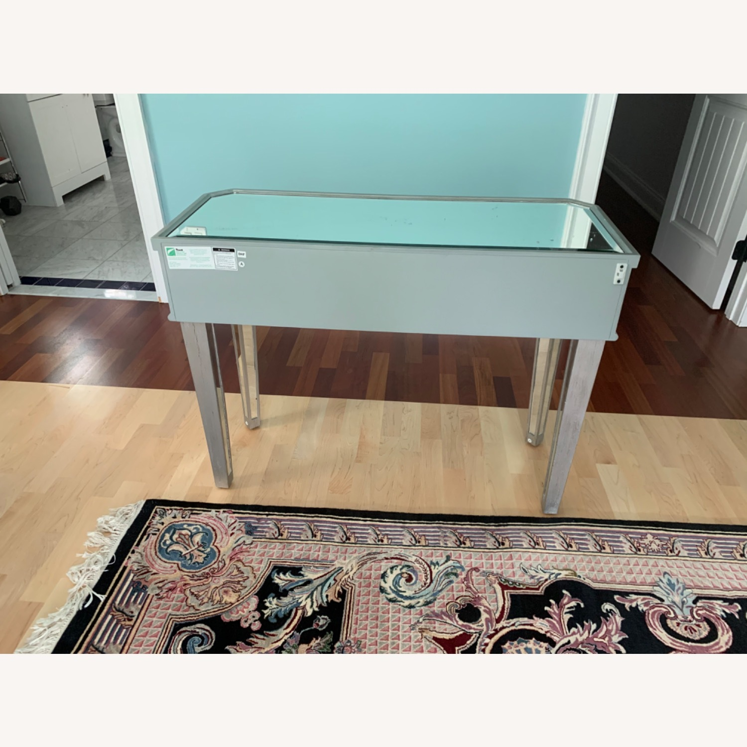Powell Furniture Mirrored Table - image-4
