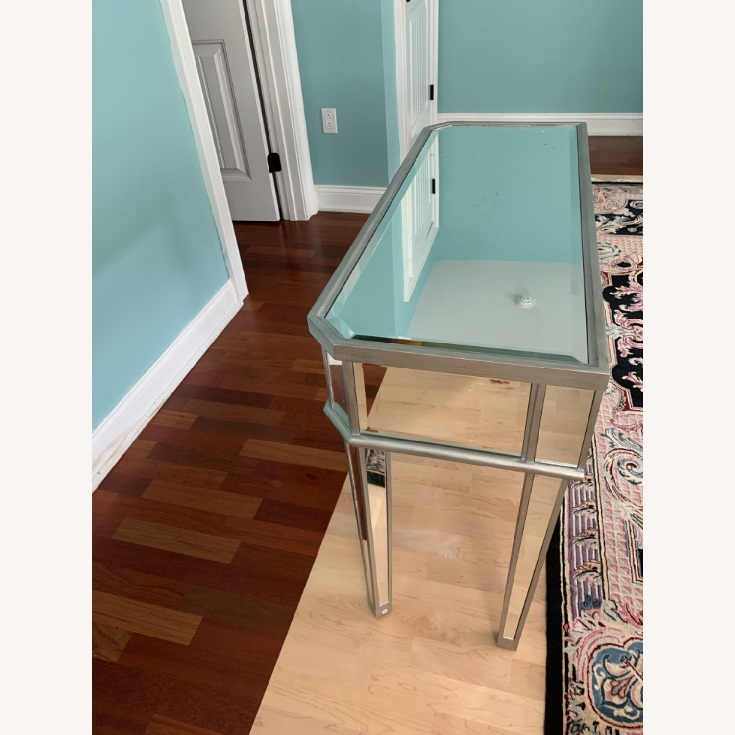 Powell Furniture Mirrored Table - image-3