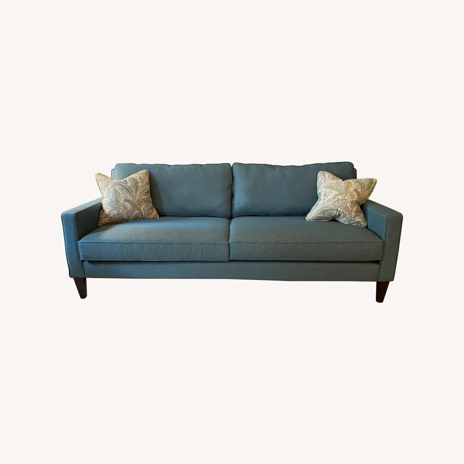 Joybird Levi Sofa in Aqua Essence - image-0