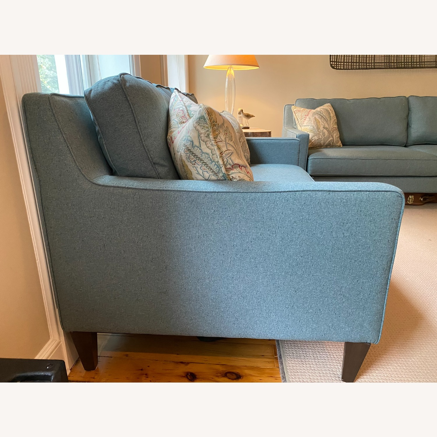 Joybird Levi Sofa in Aqua Essence - image-2