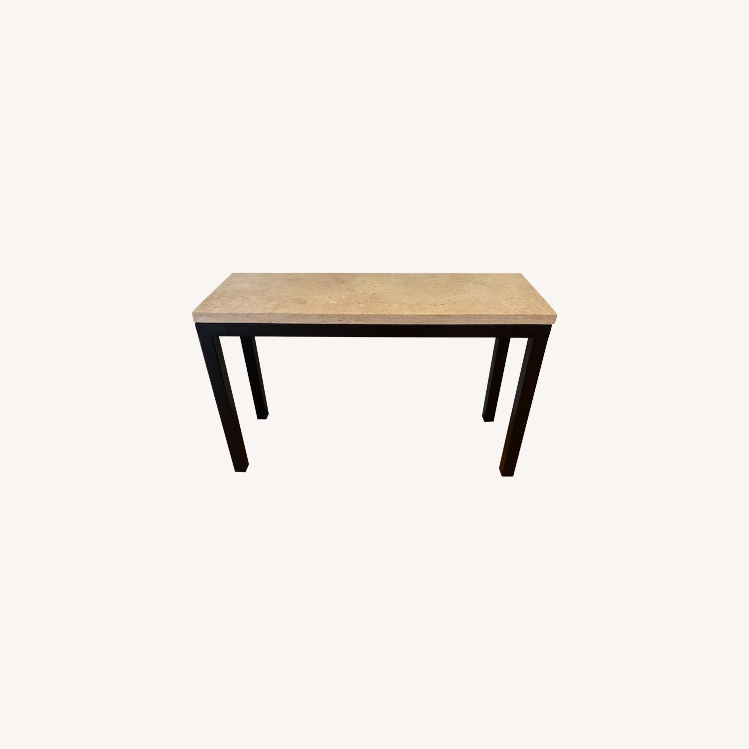 Crate & Barrel Parsons Console Table - image-0