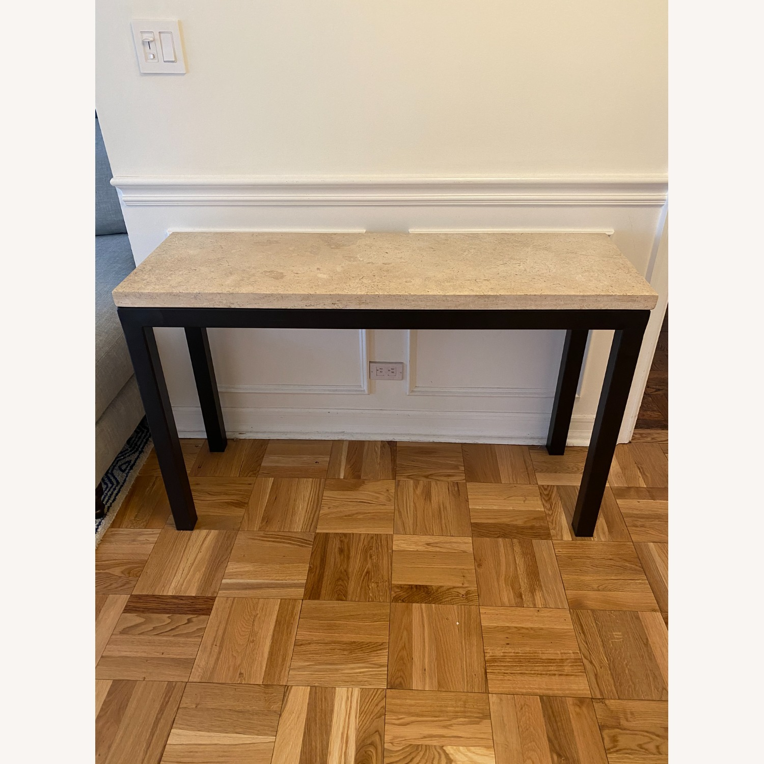 Crate & Barrel Parsons Console Table - image-1