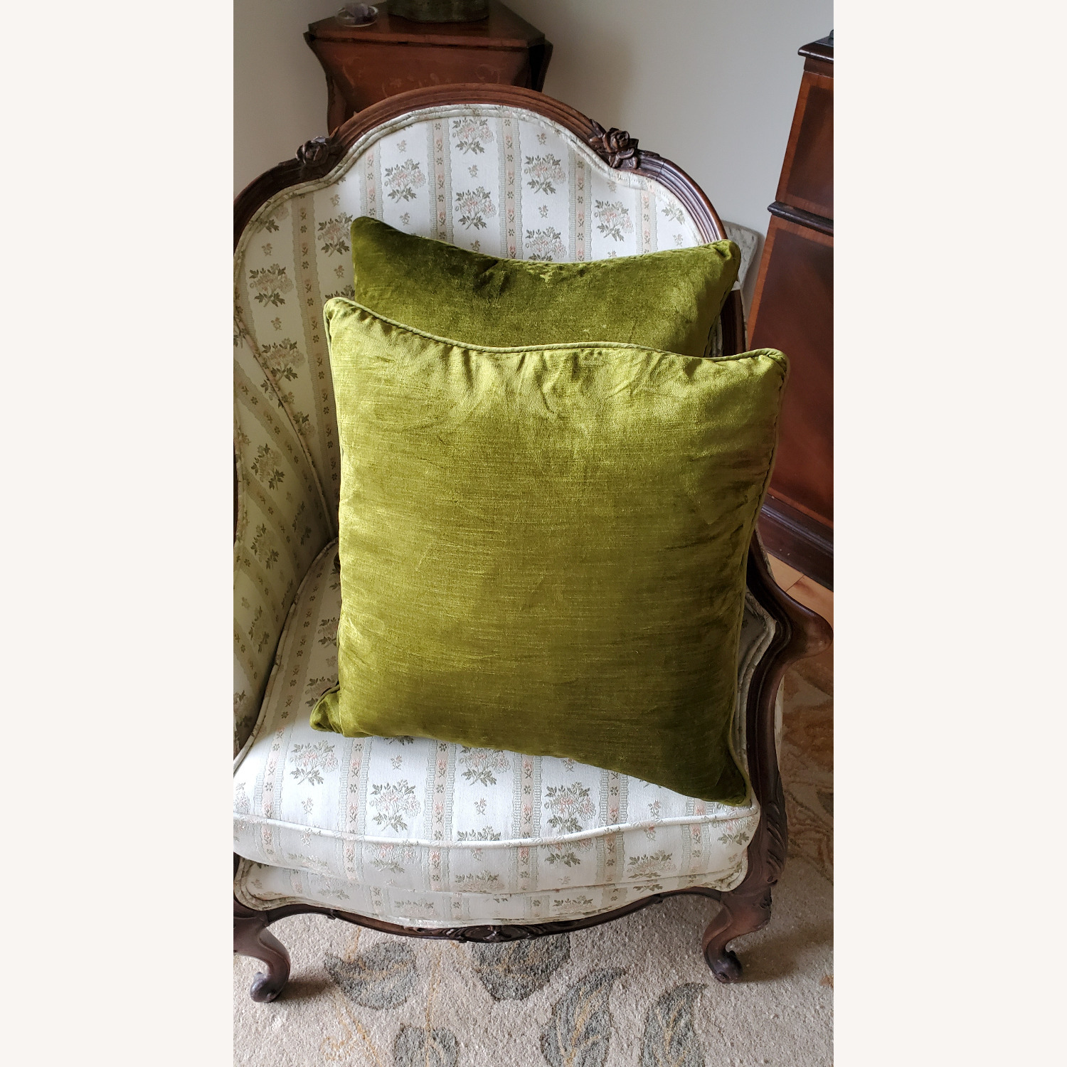 Pier1 Pillows, Sage (Set of 2) - image-3