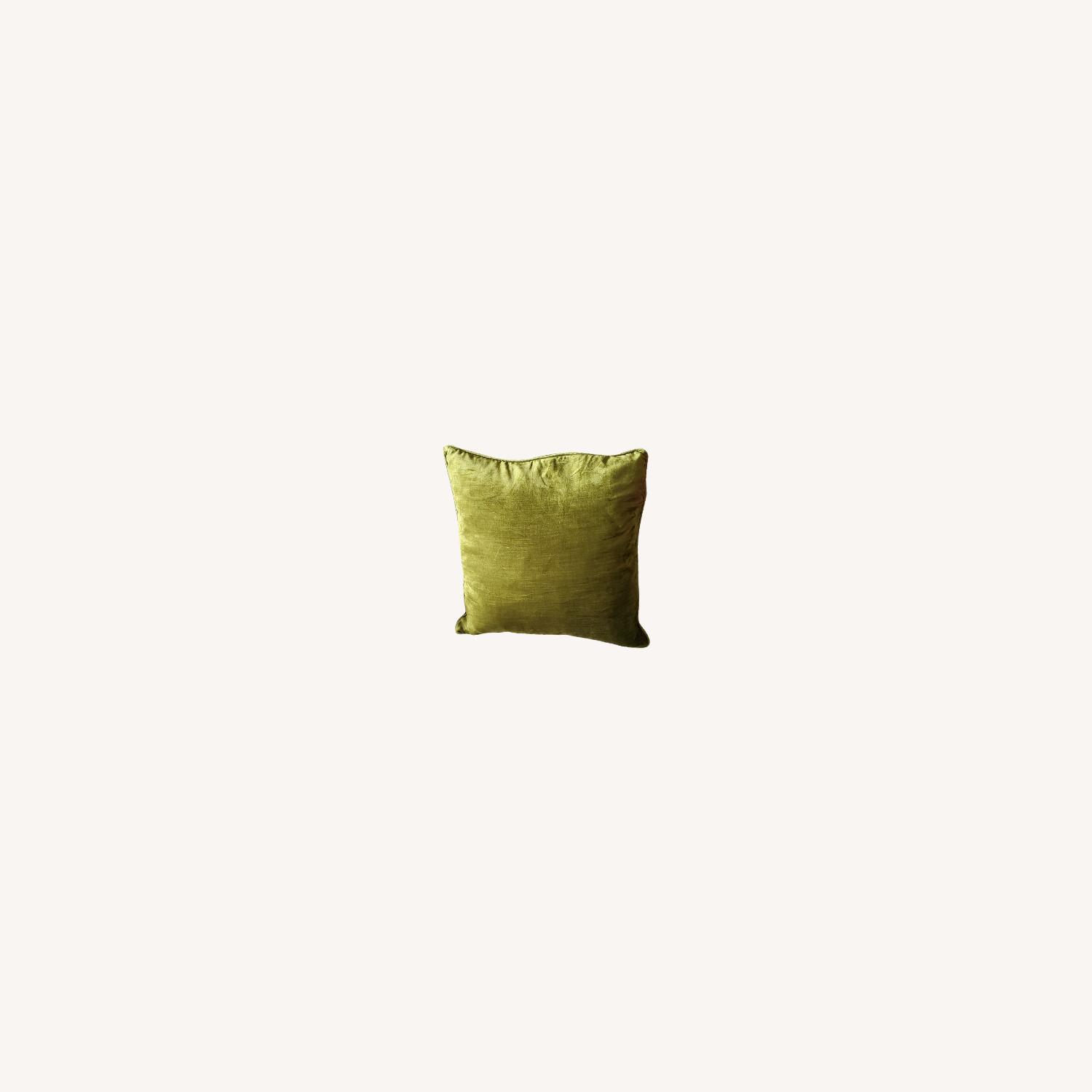 Pier1 Pillows, Sage (Set of 2) - image-0