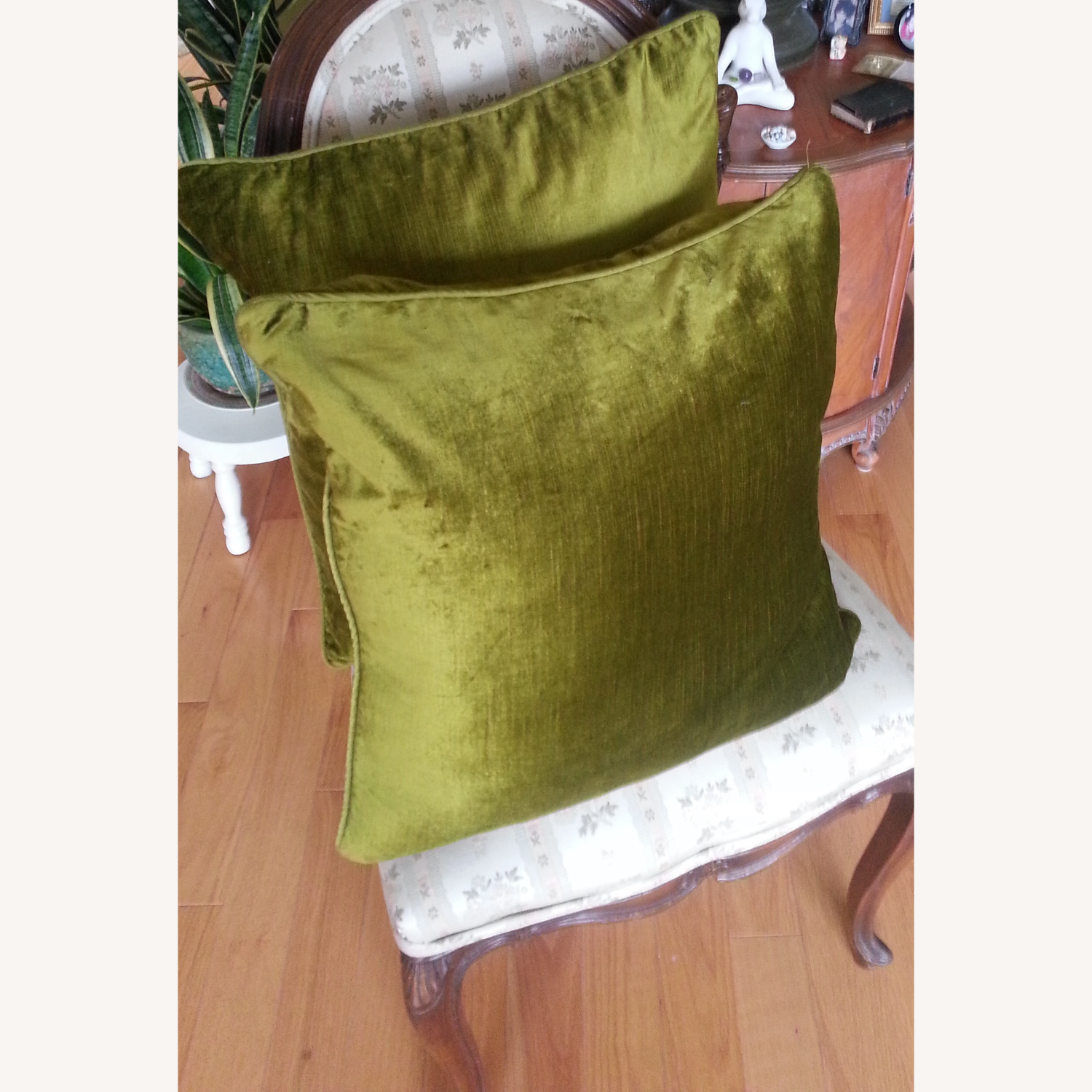 Pier1 Pillows, Sage (Set of 2) - image-1