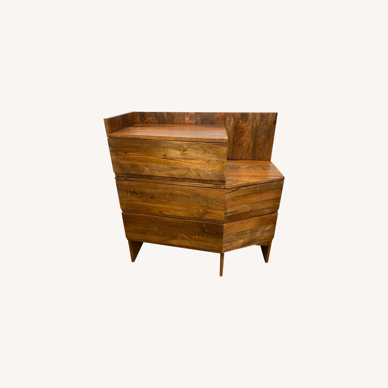 Urban Outfitters Mango Wood Dresser - image-0