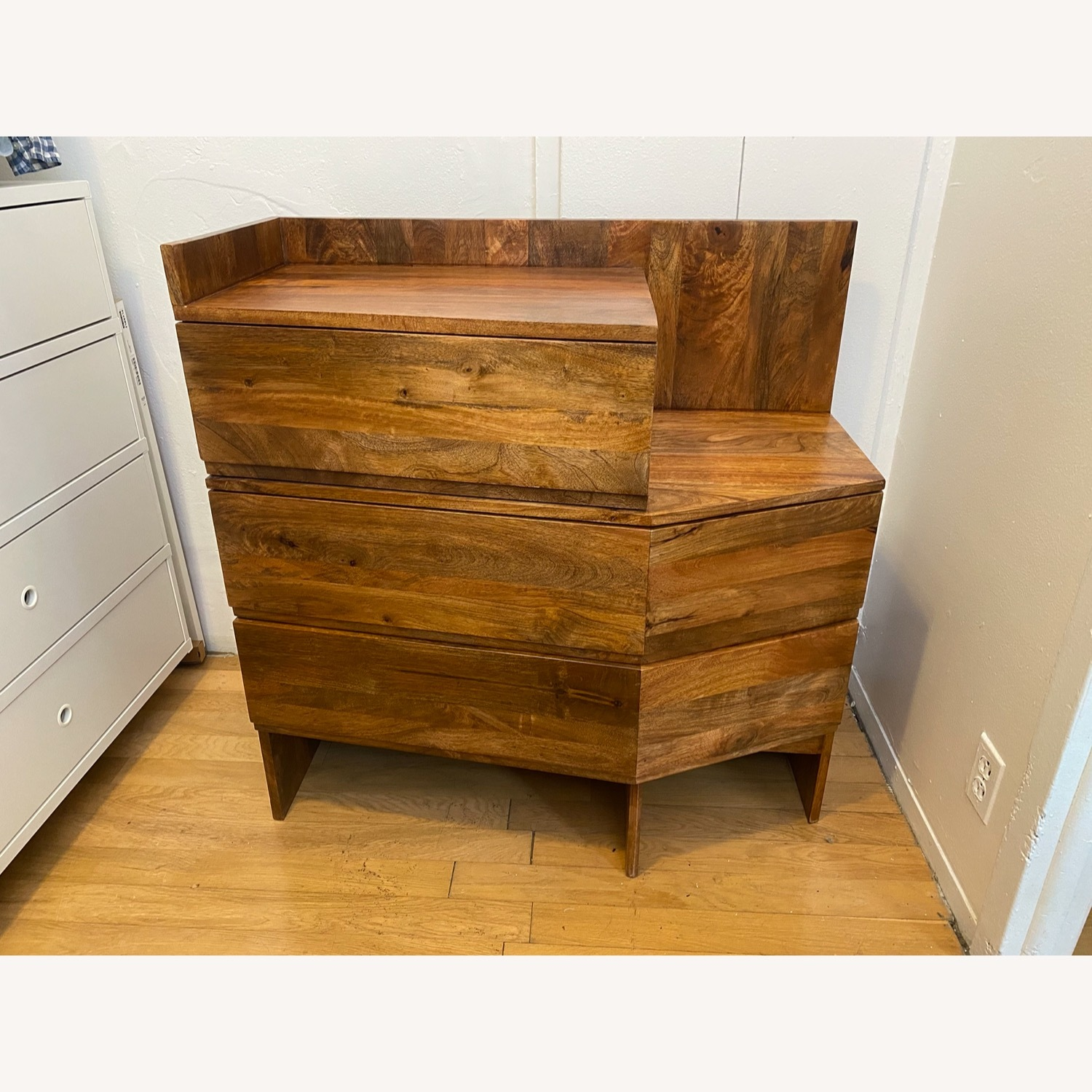 Urban Outfitters Mango Wood Dresser - image-1