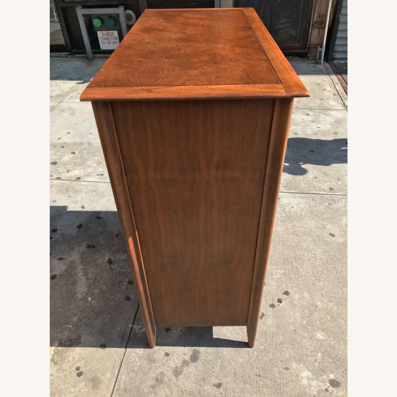 Stanley  Vintage Mid Century 1950s Walnut Dresser - image-7